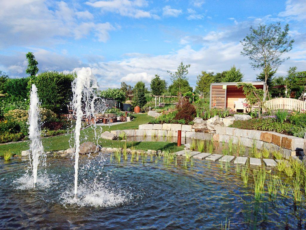 Themengärten im Amethyst Park