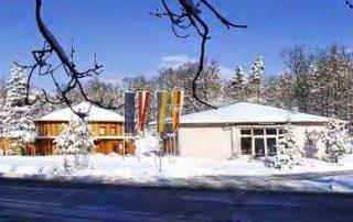 Amethyst Welt im Winter
