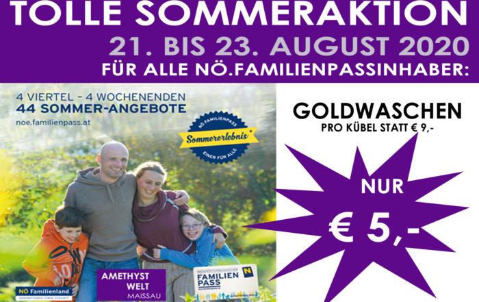 Familienpass-Aktion 2020